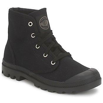 Schoenen Dames Laarzen Palladium US PAMPA HI Zwart