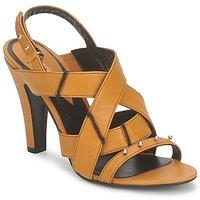 Schoenen Dames Sandalen / Open schoenen Karine Arabian DOLORES Safraan - zwart