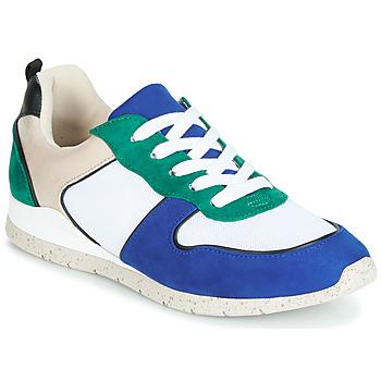 Schoenen Dames Lage sneakers André ADO Blauw