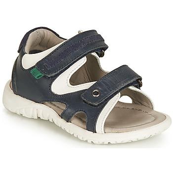 Schoenen Jongens Sandalen / Open schoenen André HAMAC Marine