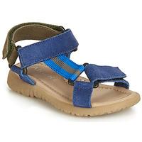 Schoenen Jongens Sandalen / Open schoenen André SUEZ Blauw