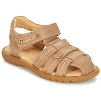 Schoenen Jongens Sandalen / Open schoenen André RADEAU Beige