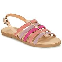 Schoenen Meisjes Sandalen / Open schoenen André INDRA Roze