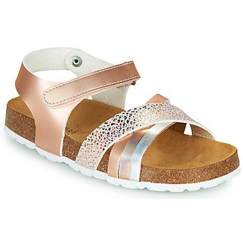 Schoenen Meisjes Sandalen / Open schoenen André CARAIBE Roze