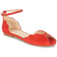 Schoenen Dames Sandalen / Open schoenen André SERINGAT Rood