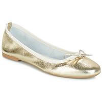 Schoenen Dames Ballerina's André PIETRA Goud