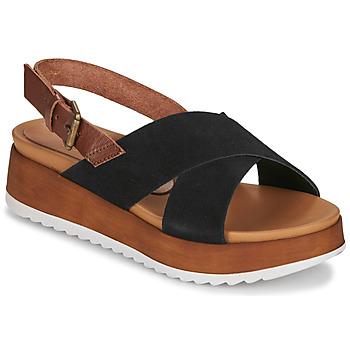 Schoenen Dames Sandalen / Open schoenen André REINE Zwart
