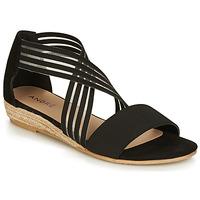 Schoenen Dames Sandalen / Open schoenen André RABAT Zwart