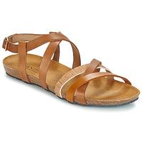 Schoenen Dames Sandalen / Open schoenen André ATTLAS Bruin