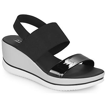 Schoenen Dames Sandalen / Open schoenen André SAURENZA Zwart