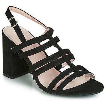 Schoenen Dames Sandalen / Open schoenen André CAPUCINE Zwart