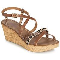 Schoenen Dames Sandalen / Open schoenen André RAMATA Bruin