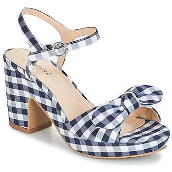 Schoenen Dames Sandalen / Open schoenen André SPRING Blauw