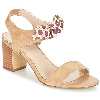 Schoenen Dames Sandalen / Open schoenen André SUPENS Beige