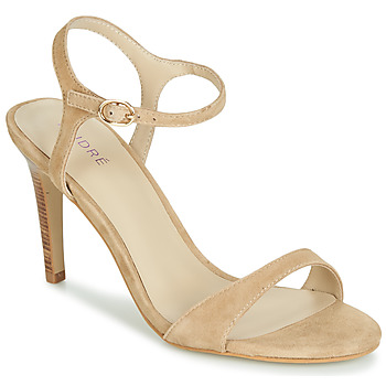 Schoenen Dames Sandalen / Open schoenen André SAXO Beige
