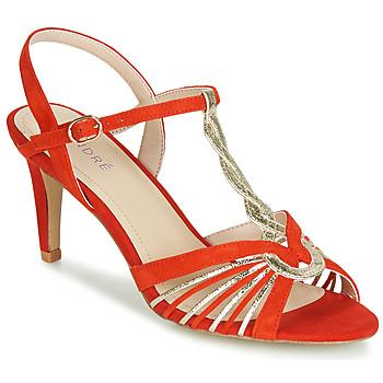 Schoenen Dames Sandalen / Open schoenen André CALECHE Rood