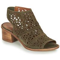Schoenen Dames Sandalen / Open schoenen André CARIOCA Kaki
