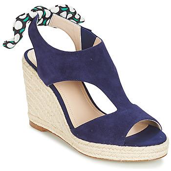 Schoenen Dames Sandalen / Open schoenen André SWING Blauw