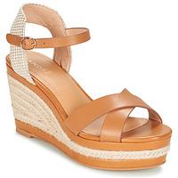 Schoenen Dames Sandalen / Open schoenen André SAND Camel