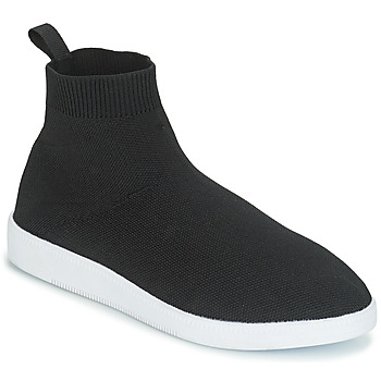Schoenen Dames Hoge sneakers André ATINA Zwart