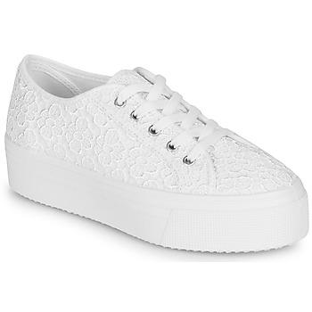 Schoenen Dames Lage sneakers André SODA Wit