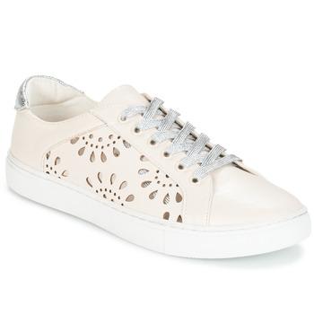 Schoenen Dames Lage sneakers André CACHOU Nude
