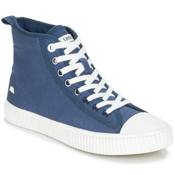 Schoenen Heren Hoge sneakers André SUBWAY Blauw