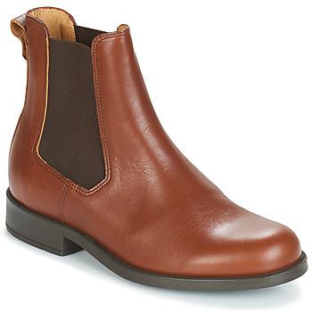 Schoenen Dames Laarzen Aigle ORZAC W 2 Cognac