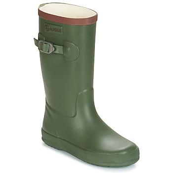 Schoenen Kinderen Regenlaarzen Aigle PERDRIX Kaki