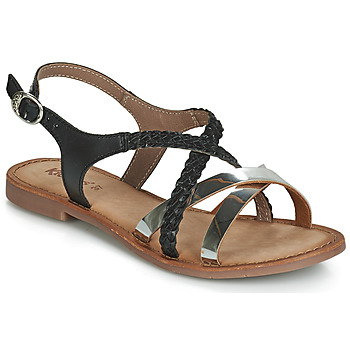 Schoenen Dames Sandalen / Open schoenen Kickers ETHY Zwart