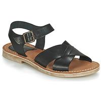 Schoenen Dames Sandalen / Open schoenen Kickers TILLY Zwart