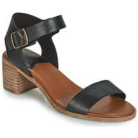 Schoenen Dames Sandalen / Open schoenen Kickers VOLOU Zwart