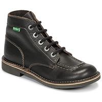 Schoenen Dames Laarzen Kickers KICK COL Bruin