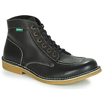 Schoenen Heren Laarzen Kickers KICKSTONER Zwart