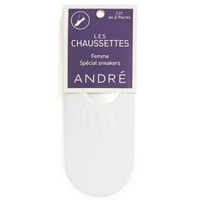 Accessoires Dames Sokken André FOOTIES Wit