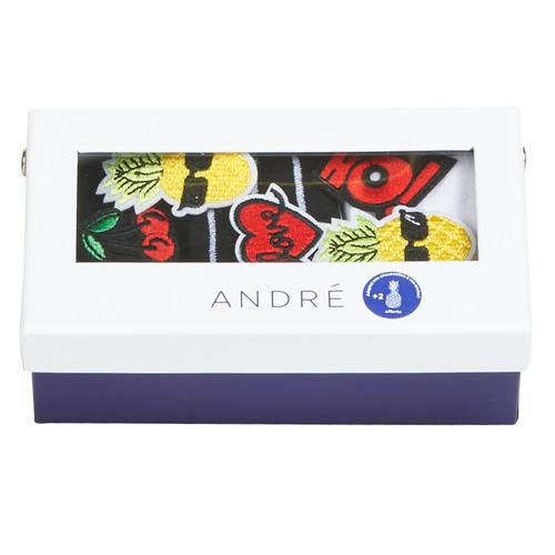 Accessoires Dames Sokken André PATCH Multicolour