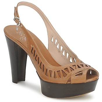 Schoenen Dames Sandalen / Open schoenen Fabi CALECHE Bruin