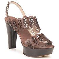 Schoenen Dames Sandalen / Open schoenen Fabi PANAMA Bruin