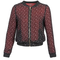 Textiel Dames Jasjes / Blazers Moony Mood CAT Zwart / Rood