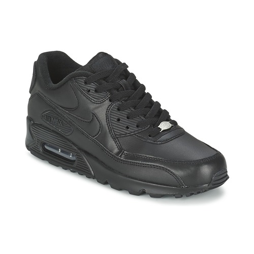hot sale online 11f86 deb61 Schoenen Heren Lage sneakers Nike AIR MAX 90 Zwart