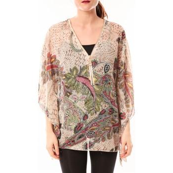 Textiel Dames Overhemden De Fil En Aiguille Tunique Love Look 1217 Beige Beige