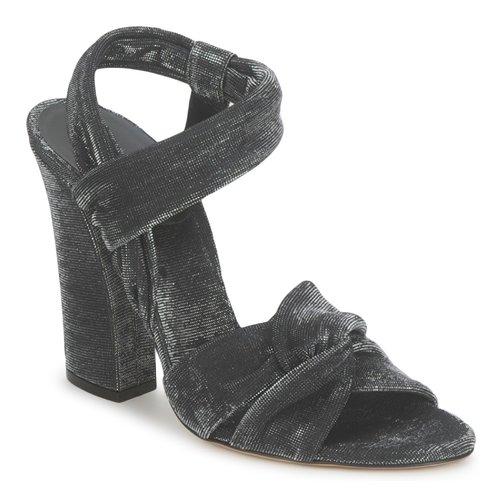 Schoenen Dames Sandalen / Open schoenen Casadei 1166N122 Zwart