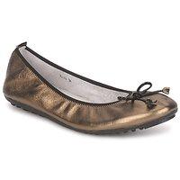Schoenen Dames Ballerina's Mac Douglas ELIANE Brons / Zwart / Lak