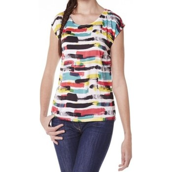 Textiel Dames T-shirts korte mouwen Little Marcel Tee-shirt Tista E15FTSS0220 Blanc Wit
