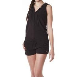 Textiel Dames Jumpsuites / Tuinbroeken Little Marcel Combishort Cosbi E15WSHO0203 Noir Zwart
