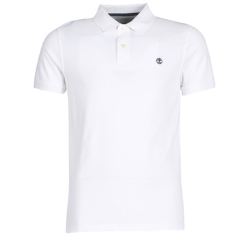 Textiel Heren Polo's korte mouwen Timberland SS POLO Wit