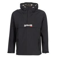 Textiel Heren Wind jackets Schott PIKES 1 Zwart