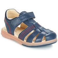 Schoenen Jongens Sandalen / Open schoenen Kickers PLATINIUM Marine