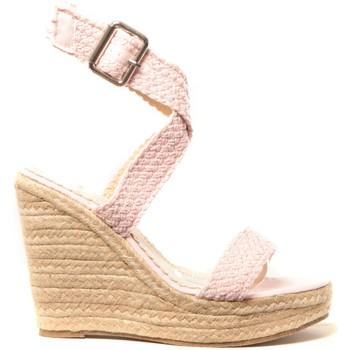 Schoenen Dames Espadrilles Cassis Côte d'Azur Chaussures Alika Rose Roze