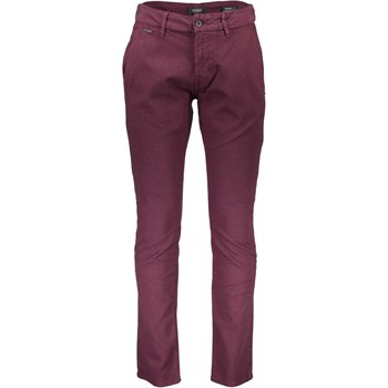 Textiel Heren Chino's Guess M74B29W9380 VIOLET A570